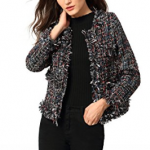 Fringe Jacket Coat Blazer